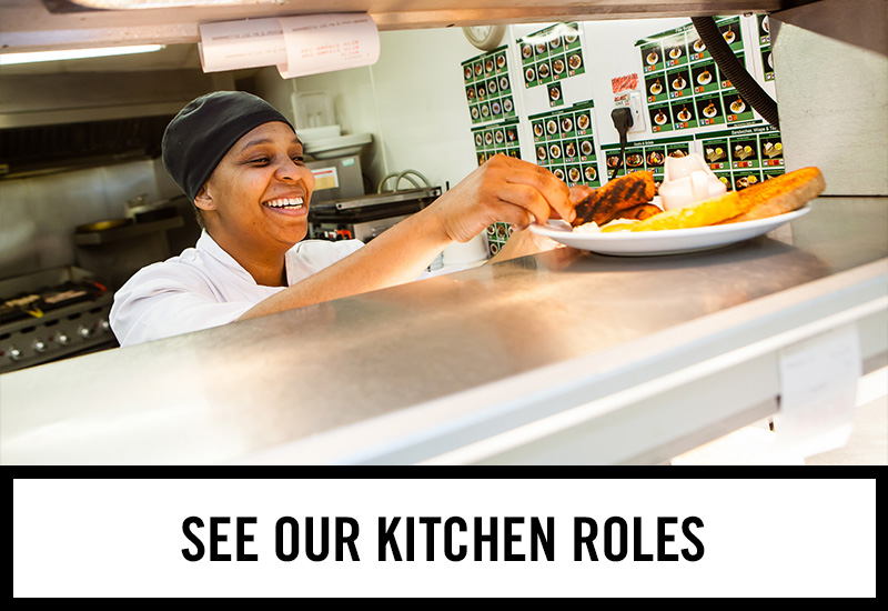 Kitchen roles at The Tron
